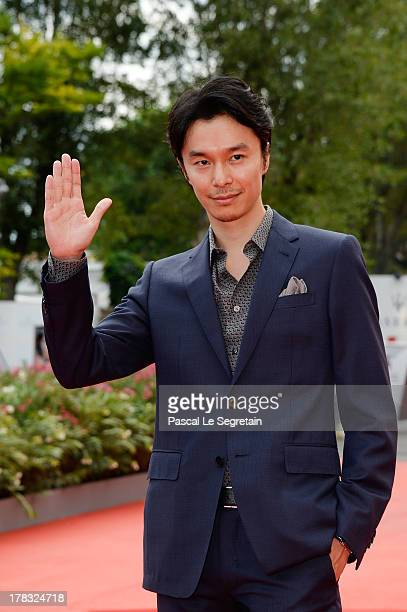 Actor Hiroki Hasegawa attends Why Don't You Play In Hell Premiere during the 70th Venice International Film Festival on August 29 2013 in Venice Italy
