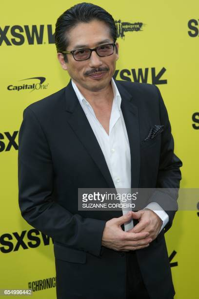 Actor Hiroyuki Sanada attends the film premiere of 'Life' during 2017 SXSW Conference and Festivals at the ZACH Theatre on March 18 2017 in Austin...