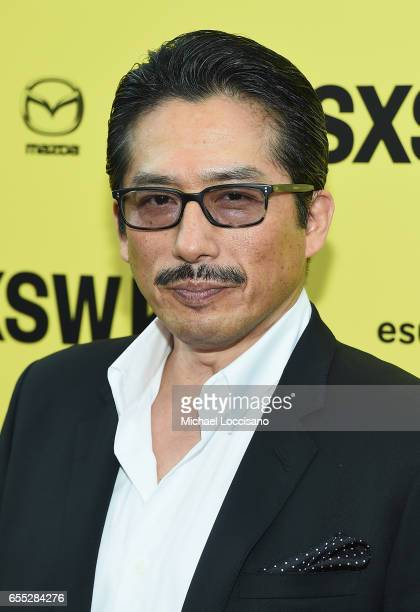 Actor Hiroyuki Sanada attends the 'Life' premiere during 2017 SXSW Conference and Festivals at the ZACH Theatre on March 18 2017 in Austin Texas