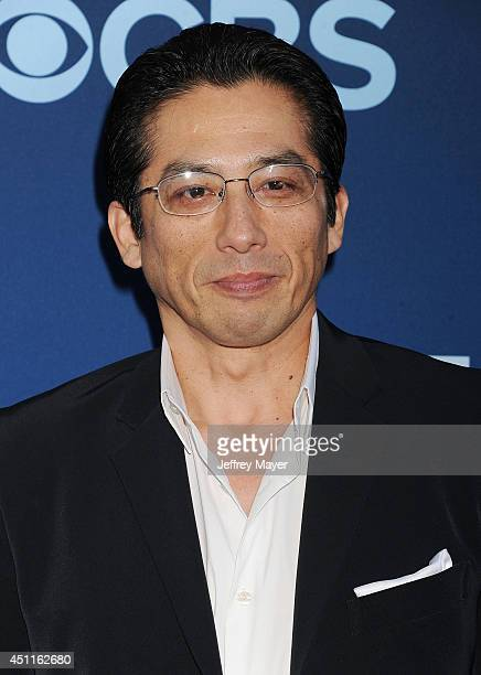 Actor Hiroyuki Sanada attends the Premiere Of CBS Films' 'Extant' at California Science Center on June 16 2014 in Los Angeles California