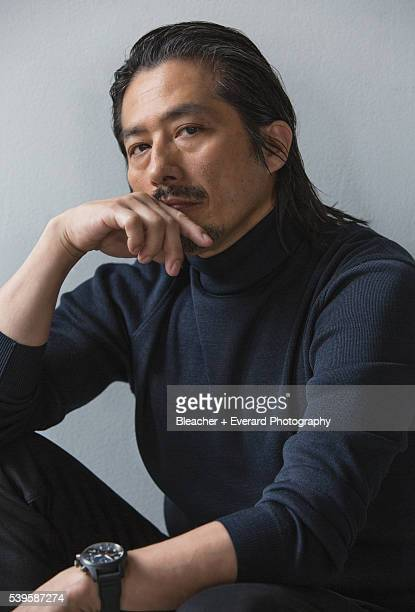 Actor Hiroyuki Sanada is photographed for August Man on May 5 2015 in New York City COVER IMAGE