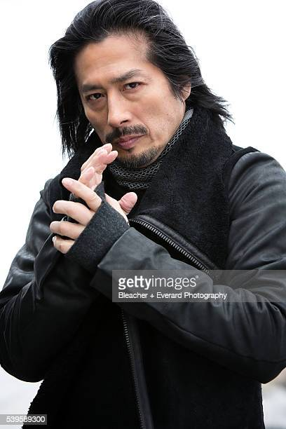 Actor Hiroyuki Sanada is photographed for August Man on May 5 2015 in New York City PUBLISHED IMAGE