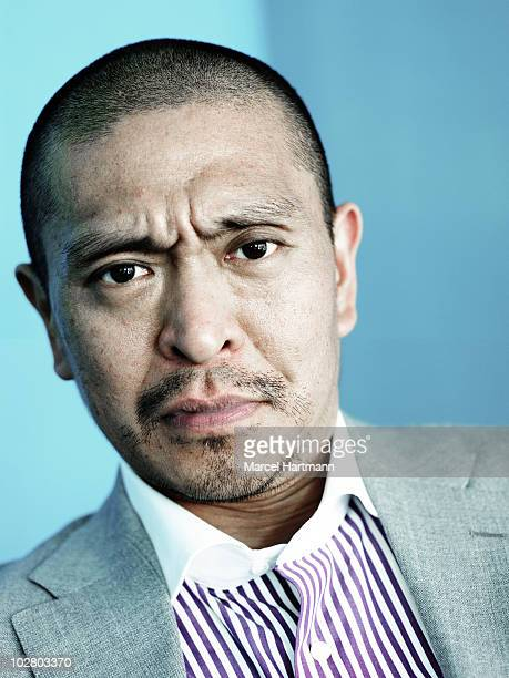 Actor Hitoshi Matsumoto poses for a portrait shoot in Cannes France