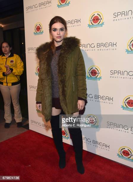 Actor Holland Roden attends City Year Los Angeles Spring Break on May 6 2017 in Los Angeles California
