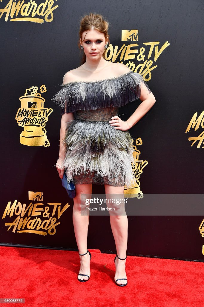 Actor Holland Roden attends the 2017 MTV Movie And TV Awards at The Shrine Auditorium on May 7, 2017 in Los Angeles, California.