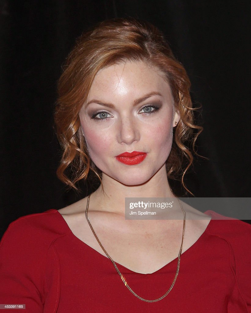 Actor <a gi-track='captionPersonalityLinkClicked' href=/galleries/search?phrase=Holliday+Grainger&family=editorial&specificpeople=5776491 ng-click='$event.stopPropagation()'>Holliday Grainger</a> attends the 'Lone Survivor' New York premiere at Ziegfeld Theater on December 3, 2013 in New York City.