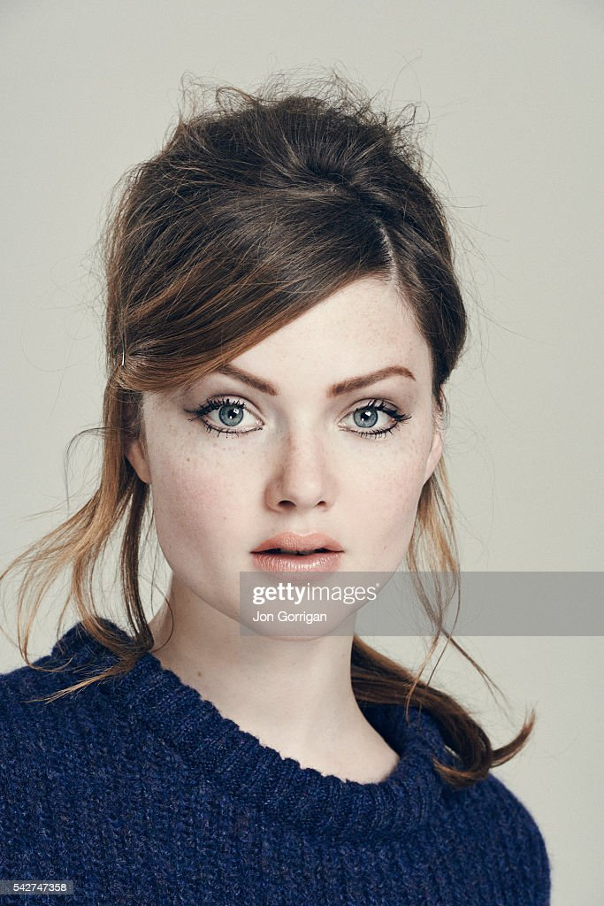 Actor Holly Grainger is photographed for the Guardian on July 3, 2014 in London, England.