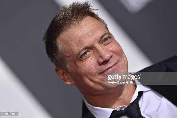Actor Holt McCallany arrives at the premiere of Warner Bros Pictures' 'Justice League' at Dolby Theatre on November 13 2017 in Hollywood California