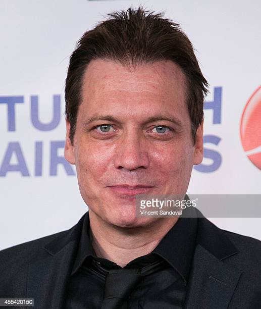 Actor Holt McCallany attends the Face Forward Foundation's Charity Gala supporting victims of domestic abuse at Millennium Biltmore Hotel on...