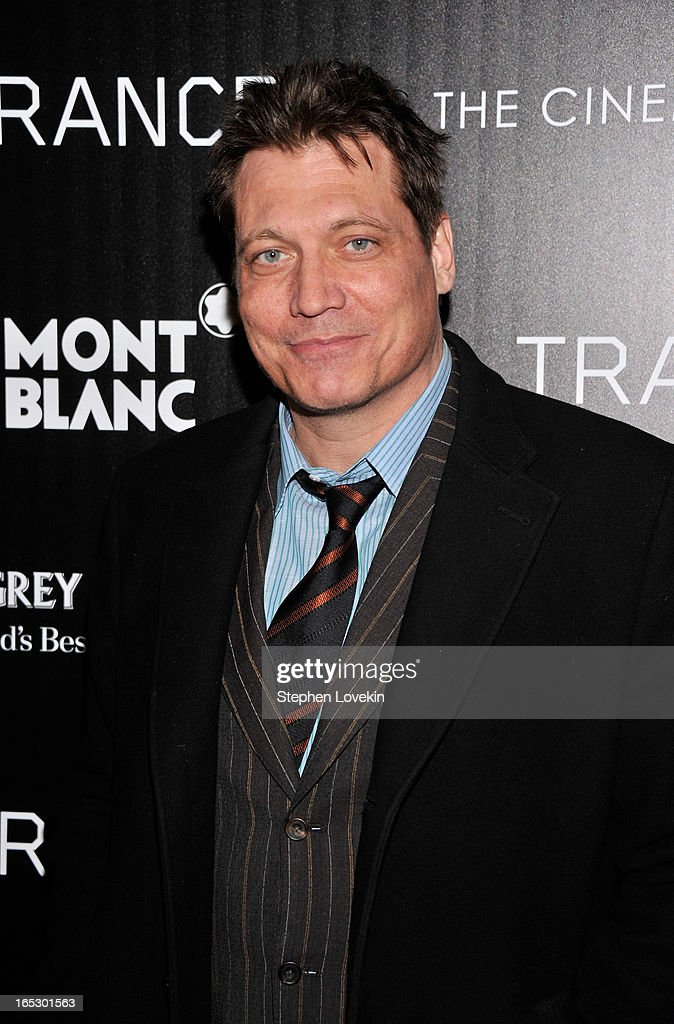 Actor Holt McCallany attends the premiere of Fox Searchlight Pictures' 'Trance' hosted by The Cinema Society & Montblanc at SVA Theater on April 2, 2013 in New York City.