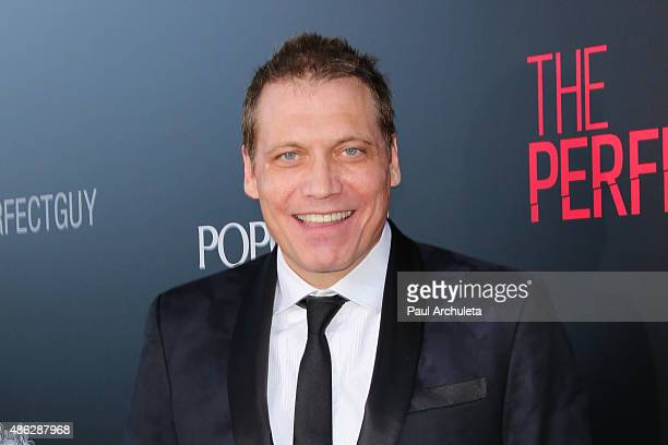 Actor Holt McCallany attends the premiere of 'The Perfect Guy' at The WGA Theater on September 2 2015 in Beverly Hills California