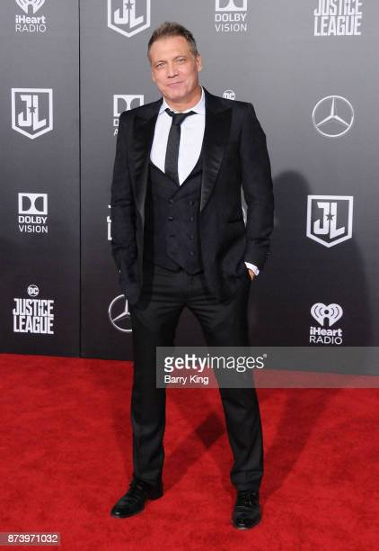 Actor Holt McCallany attends the premiere of Warner Bros Pictures' 'Justice League' at Dolby Theatre on November 13 2017 in Hollywood California