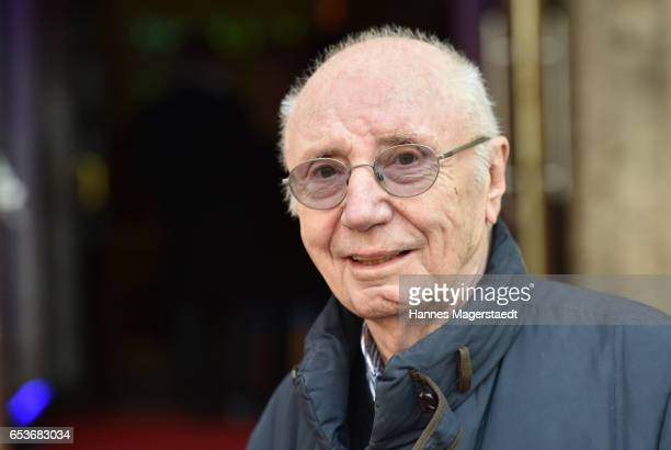 Actor Horst Sachtleben during the NdF after work press cocktail at Parkcafe on March 15 2017 in Munich Germany