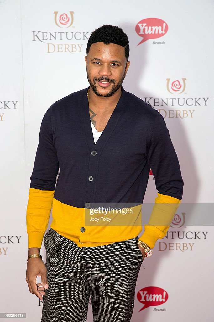 Actor <a gi-track='captionPersonalityLinkClicked' href=/galleries/search?phrase=Hosea+Chanchez&family=editorial&specificpeople=879950 ng-click='$event.stopPropagation()'>Hosea Chanchez</a> attends the 140th Kentucky Derby at Churchill Downs on May 3, 2014 in Louisville, Kentucky.