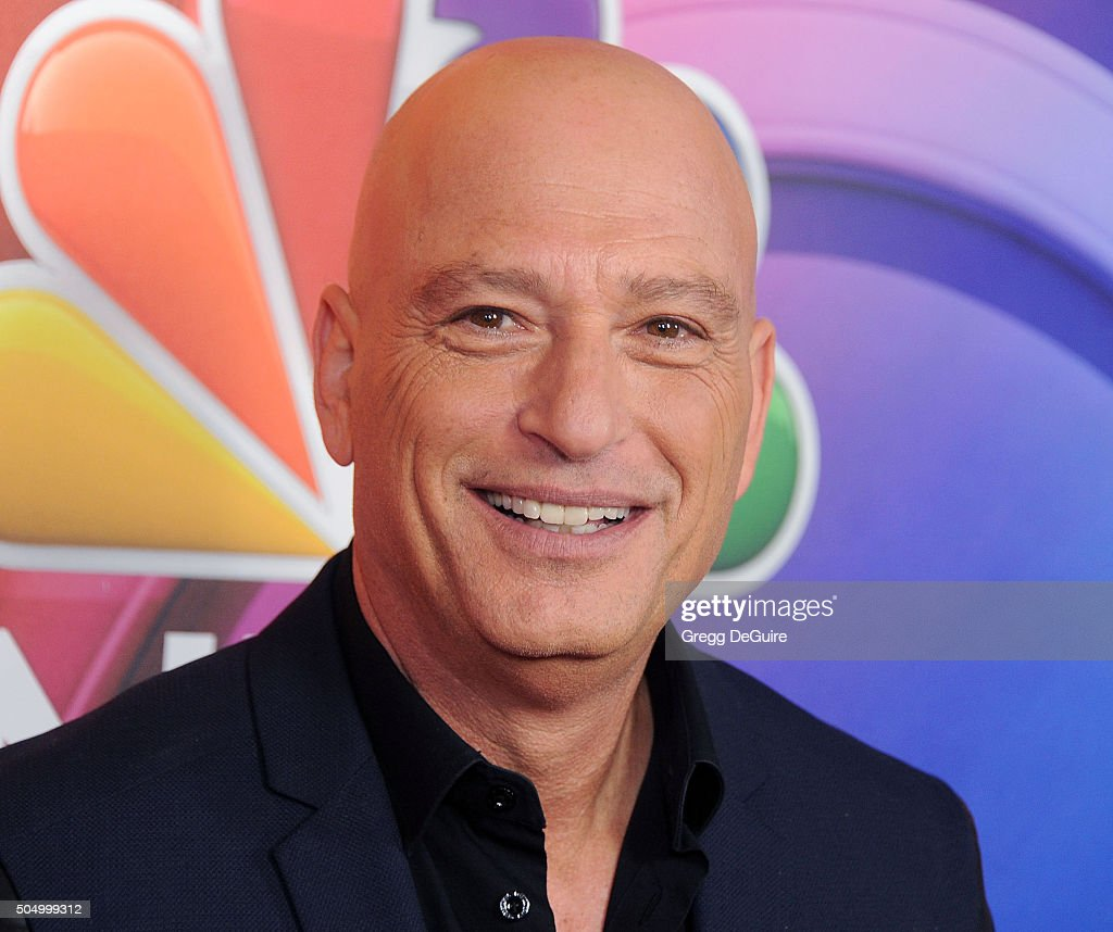 Actor Howie Mandel arrives at the 2016 NBCUniversal Winter TCA Press Tour at Langham Hotel on January 13, 2016 in Pasadena, California.