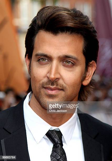 Actor Hrithik Roshan attends the European Premiere of 'Kites' at Odeon West End on May 18 2010 in London England
