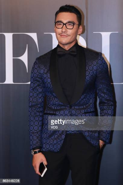 Actor Hu Bing attends La Perla collection during Macao Fashion Week on October 19 2017 in Macau Macau