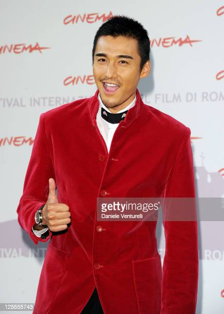 Actor Hu Bing attends 'The Back' photocall during The 5th International Rome Film Festival at Auditorium Parco Della Musica on November 2 2010 in...