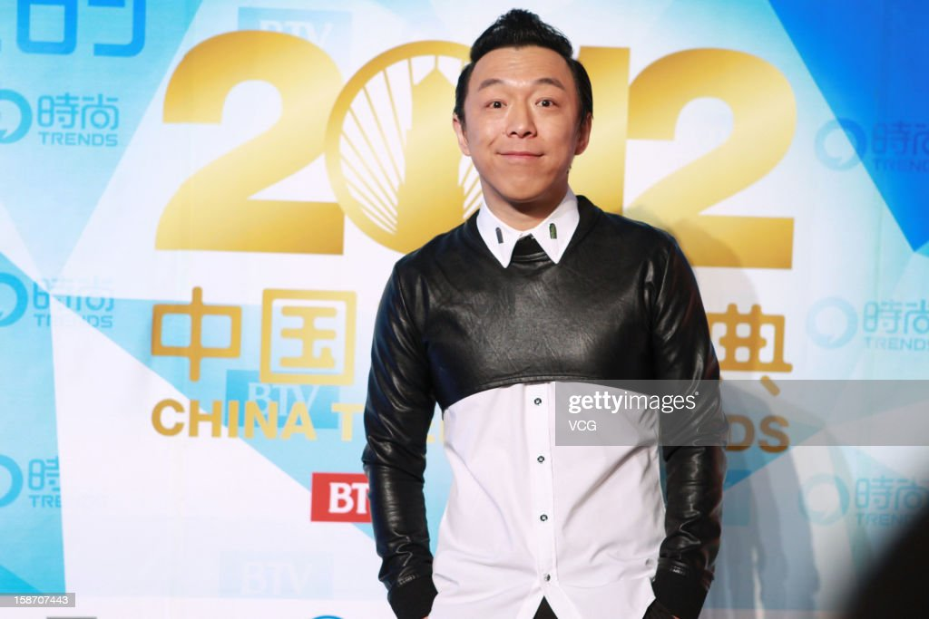 Actor Huang Bo arrives at the red carpet of the 2012 China Trends Awards at BTV Grand Theater on December 22, 2012 in Beijing, China.