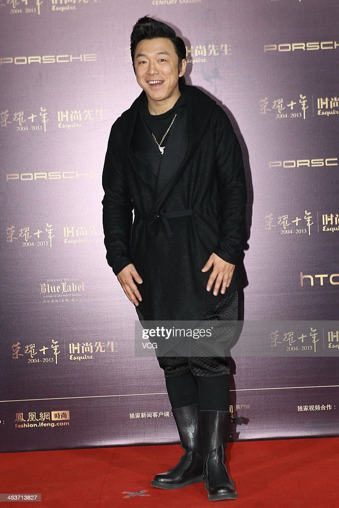 Actor Huang Bo attends Esquire Men Of The Year Awards 2013 at Oriental Theatre on December 4, 2013 in Beijing, China.