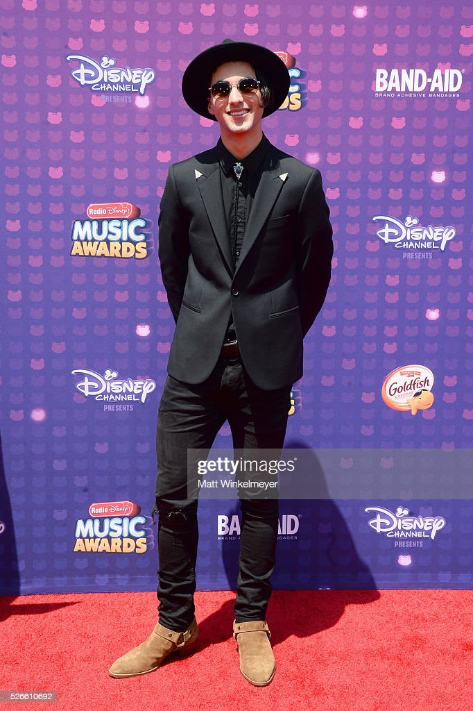 Actor Hudson Thames attends the 2016 Radio Disney Music Awards at Microsoft Theater on April 30, 2016 in Los Angeles, California.