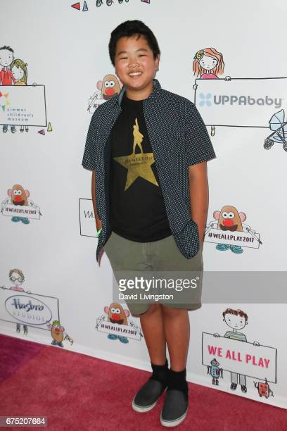 Actor Hudson Yang attends the WE ALL PLAY FUNdraiser hosted by the Zimmer Children's Museum at the Zimmer Children's Museum on April 30 2017 in Los...