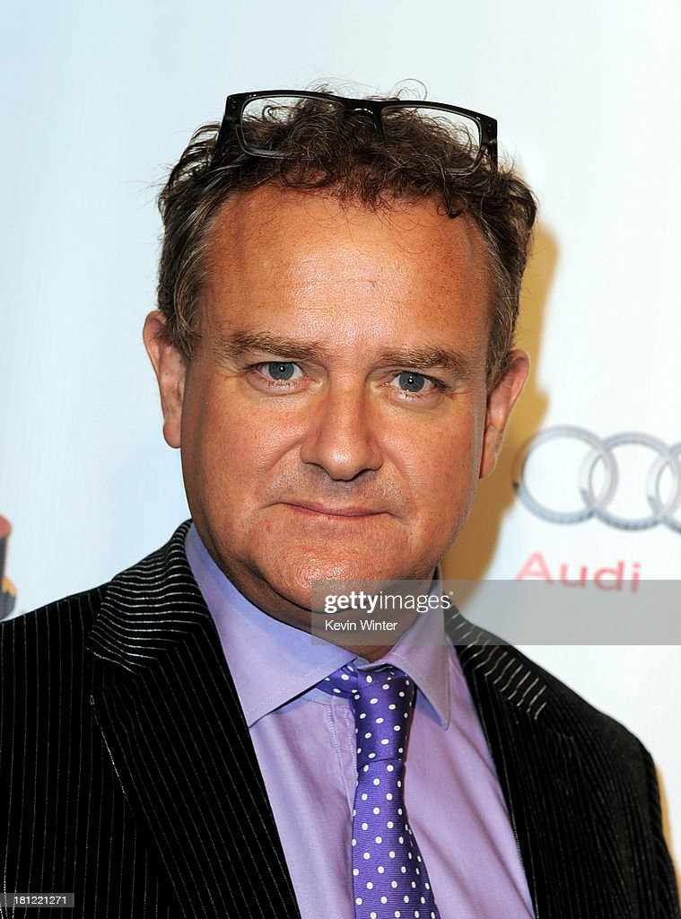 Actor Hugh Bonneville arrives at the 65th Primetime Emmy Awards Writer Nominees reception at the Academy of Television Arts & Sciences on September 19, 2013 in No. Hollywood, California.