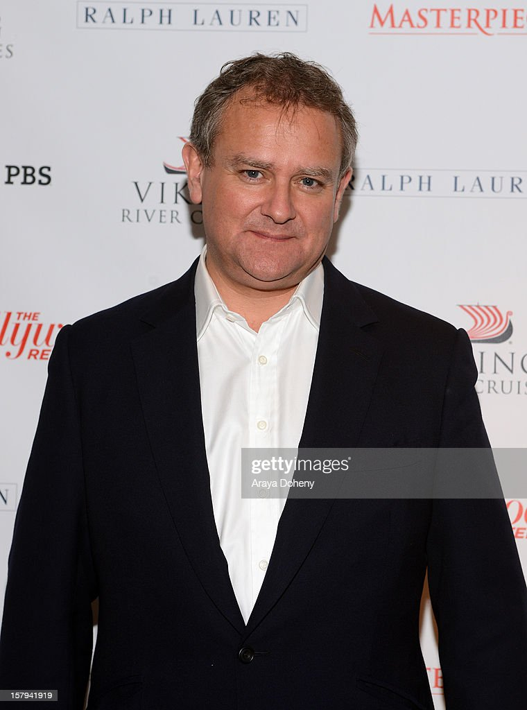 Actor <a gi-track='captionPersonalityLinkClicked' href=/galleries/search?phrase=Hugh+Bonneville&family=editorial&specificpeople=228840 ng-click='$event.stopPropagation()'>Hugh Bonneville</a> arrives at The Hollywood Reporter screening of PBS Masterpiece's 'Downton Abbey' Season 3 on December 7, 2012 in West Hollywood, California.
