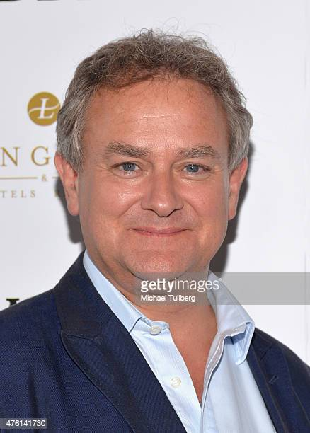 Actor Hugh Bonneville attends 'An Afternoon With Downton Abbey' Talent Panel QA session at Writers Guild Theater on June 6 2015 in Beverly Hills...