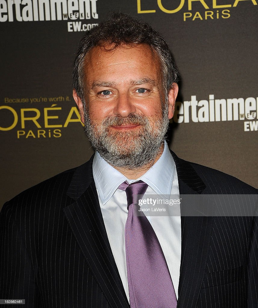 Actor <a gi-track='captionPersonalityLinkClicked' href=/galleries/search?phrase=Hugh+Bonneville&family=editorial&specificpeople=228840 ng-click='$event.stopPropagation()'>Hugh Bonneville</a> attends the 2012 Entertainment Weekly pre-Emmy party at Fig & Olive Melrose Place on September 21, 2012 in West Hollywood, California.
