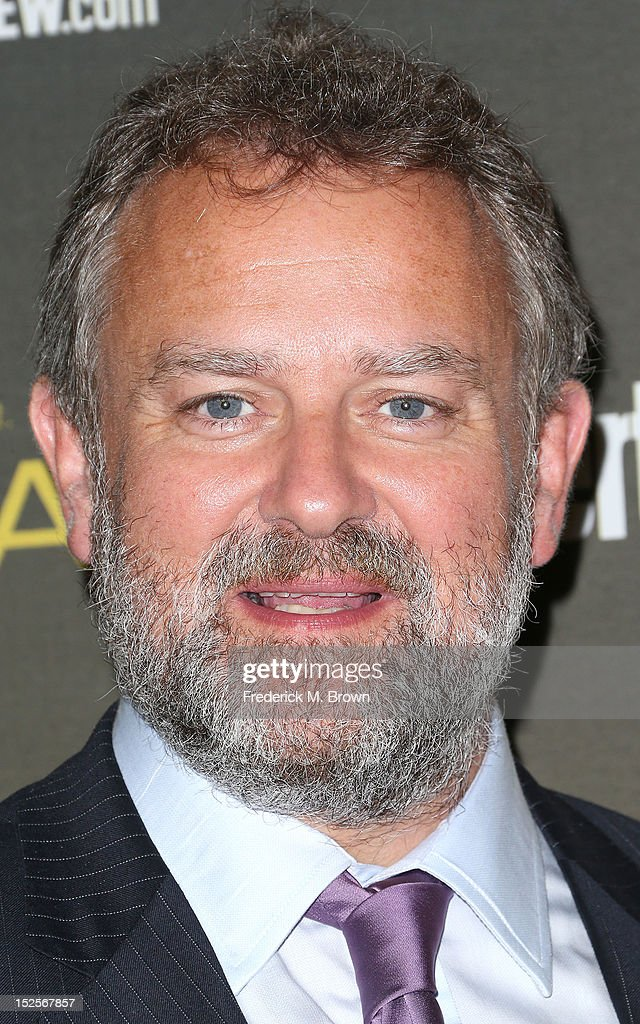 Actor <a gi-track='captionPersonalityLinkClicked' href=/galleries/search?phrase=Hugh+Bonneville&family=editorial&specificpeople=228840 ng-click='$event.stopPropagation()'>Hugh Bonneville</a> attends the 2012 Entertainment Weekly Pre-Emmy Party at the Fig & Olive on September 21, 2012 in West Hollywood, California.