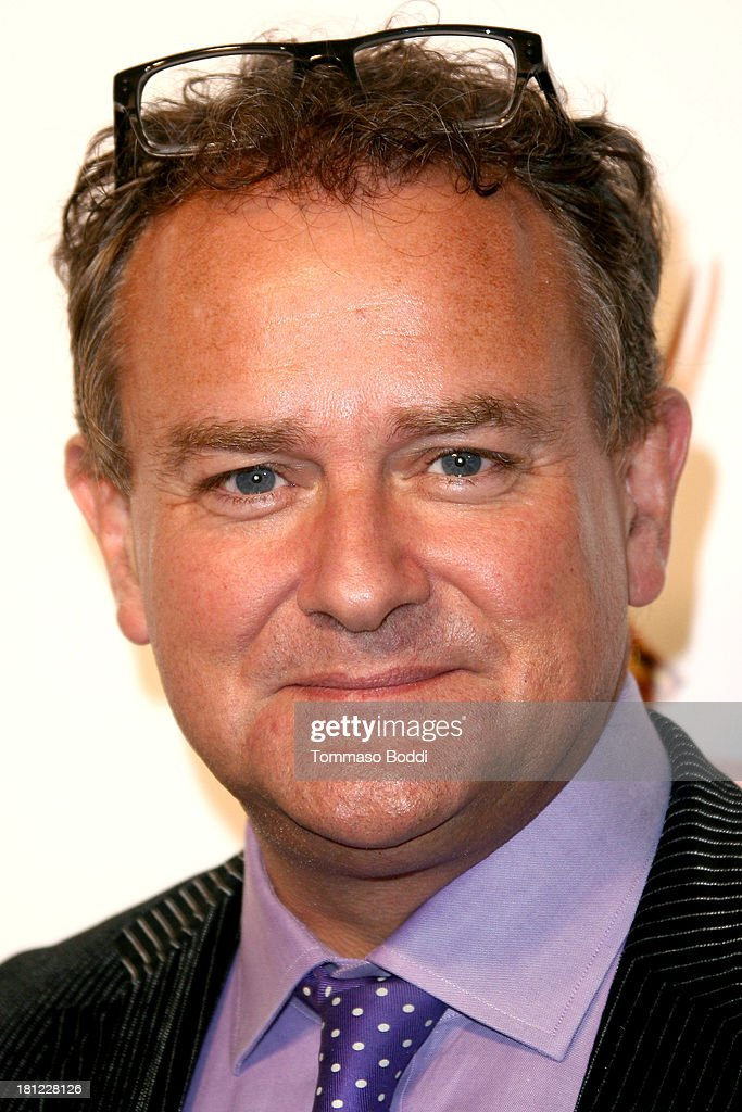 Actor <a gi-track='captionPersonalityLinkClicked' href=/galleries/search?phrase=Hugh+Bonneville&family=editorial&specificpeople=228840 ng-click='$event.stopPropagation()'>Hugh Bonneville</a> attends the 65th Emmy Awards Writers Nominee reception held at the Leonard H. Goldenson Theatre on September 19, 2013 in North Hollywood, California.