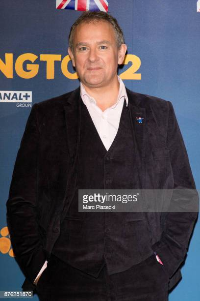 Actor Hugh Bonneville attends the 'Paddington II' Premiere at L'Olympia on November 19 2017 in Paris France