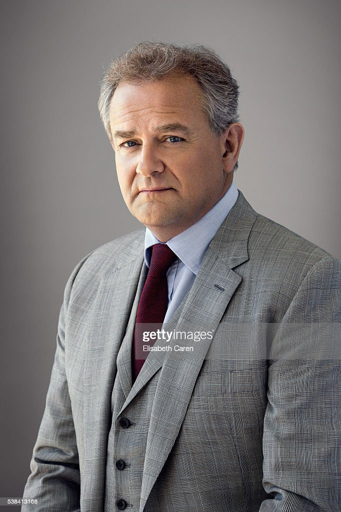 Actor Hugh Bonneville is photographed for Emmy Magazine on December 15, 2015 in Los Angeles, California. )Photo by Elisabeth Caren/Contour by Getty Images)