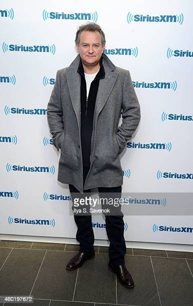 Actor Hugh Bonneville visits the SiriusXM Studios on December 9 2014 in New York City