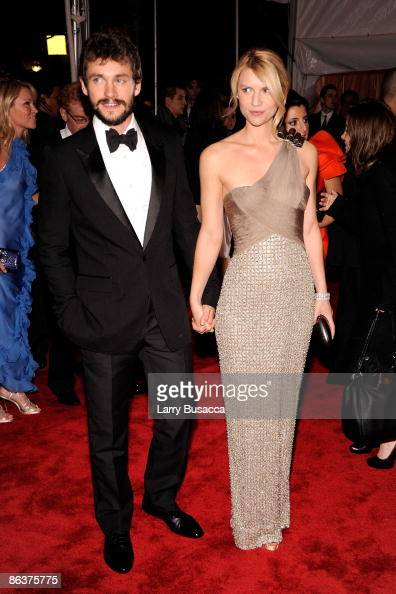 Actor Hugh Dancy and actress Claire Danes attend 'The Model as Muse Embodying Fashion' Costume Institute Gala at The Metropolitan Museum of Art on...