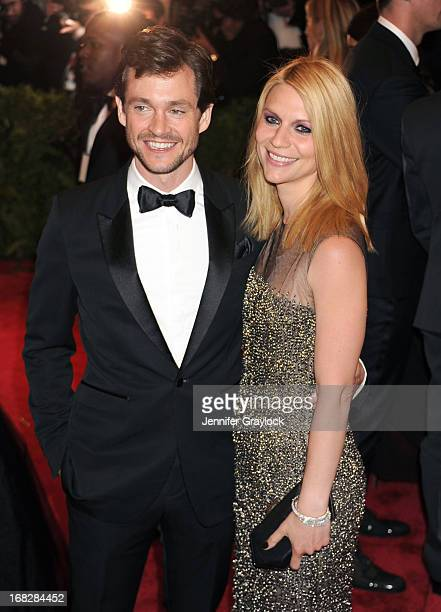 Actor Hugh Dancy and Actress Claire Danes attends the Costume Institute Gala for the 'PUNK Chaos to Couture' exhibition at the Metropolitan Museum of...
