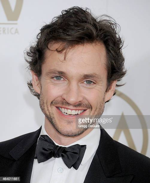Actor Hugh Dancy arrives at the 25th Annual Producers Guild Awards at The Beverly Hilton Hotel on January 19 2014 in Beverly Hills California