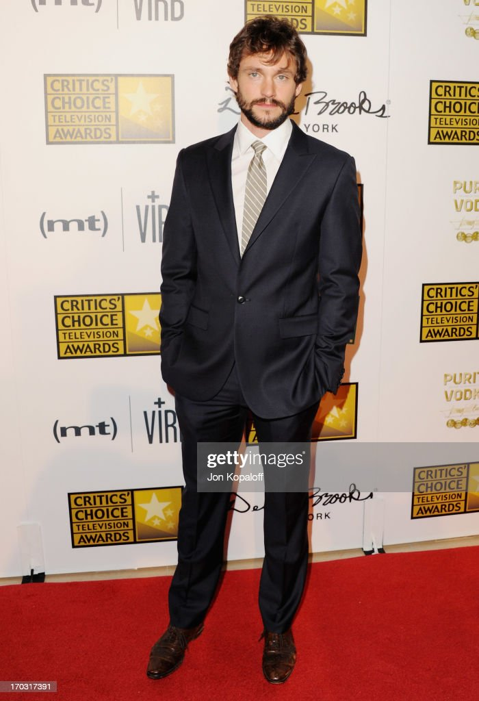Actor <a gi-track='captionPersonalityLinkClicked' href=/galleries/search?phrase=Hugh+Dancy&family=editorial&specificpeople=214056 ng-click='$event.stopPropagation()'>Hugh Dancy</a> arrives at the BTJA Critics' Choice Television Award at The Beverly Hilton Hotel on June 10, 2013 in Beverly Hills, California.