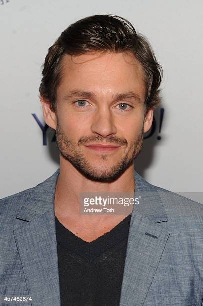 Actor Hugh Dancy attends the 2nd annual Paleyfest New York presents 'Hannibal' at Paley Center For Media on October 18 2014 in New York New York