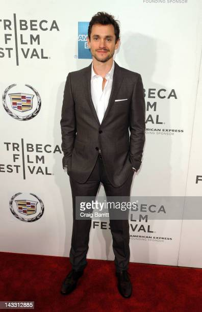 Actor Hugh Dancy attends the 'Hysteria' Premiere during the 2012 Tribeca Film Festival at the BMCC Tribeca PAC on April 23 2012 in New York City