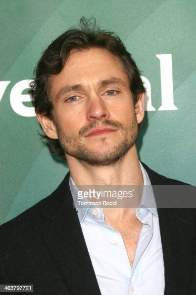 Actor Hugh Dancy attends the NBC/Universal 2014 TCA Winter Press Tour held at The Langham Huntington Hotel and Spa on January 19 2014 in Pasadena...