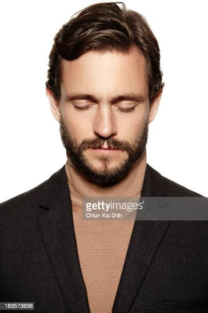 Actor Hugh Dancy is photographed for August Man on September 1 2013 in New York City PUBLISHED IMAGE
