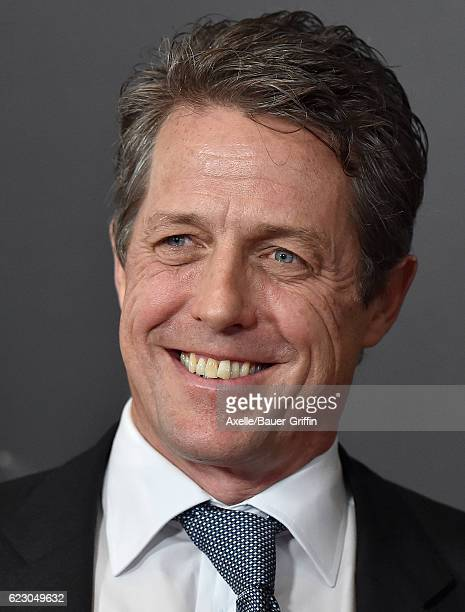 Actor Hugh Grant arrives at the 20th Annual Hollywood Film Awards at the Beverly Hilton Hotel on November 6 2016 in Los Angeles California