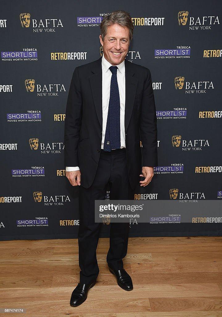 "BAFTA New York With Tribeca Shortlist Hosts ""In Conversation With Hugh Grant"""