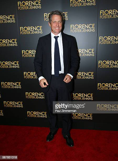 Actor Hugh Grant attends 'Florence Foster Jenkins' New York City Premiere at AMC Loews Lincoln Square on August 9 2016 in New York City