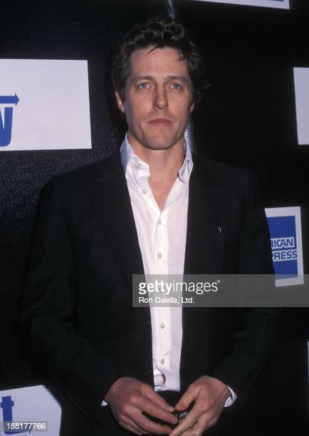 Actor Hugh Grant attends the First Annual Tribeca Film Festival Opening Night 'About A Boy' Screening on May 8 2002 at the Tribeca Performing Arts...