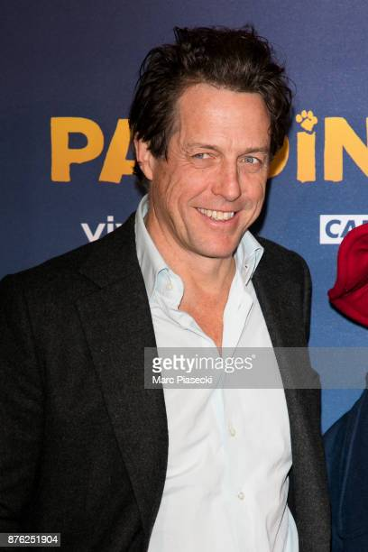 Actor Hugh Grant attends the 'Paddington II' Premiere at L'Olympia on November 19 2017 in Paris France