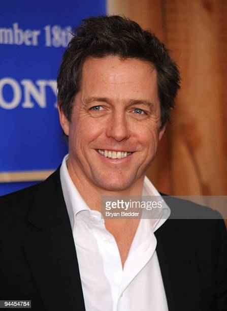 Actor Hugh Grant attends the premiere of 'Did You Hear About the Morgans' at Ziegfeld Theatre on December 14 2009 in New York City