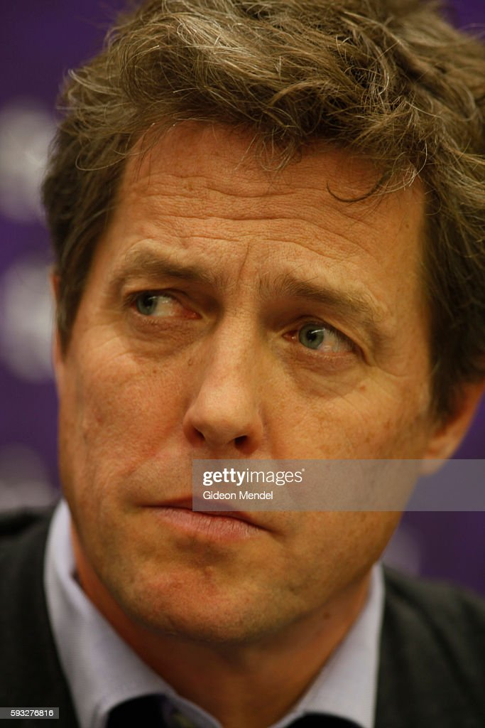 Actor Hugh Grant takes part in a fringe meeting panel discussion organised by the Media Standards Trust at the Conservative Party Conference Grant...
